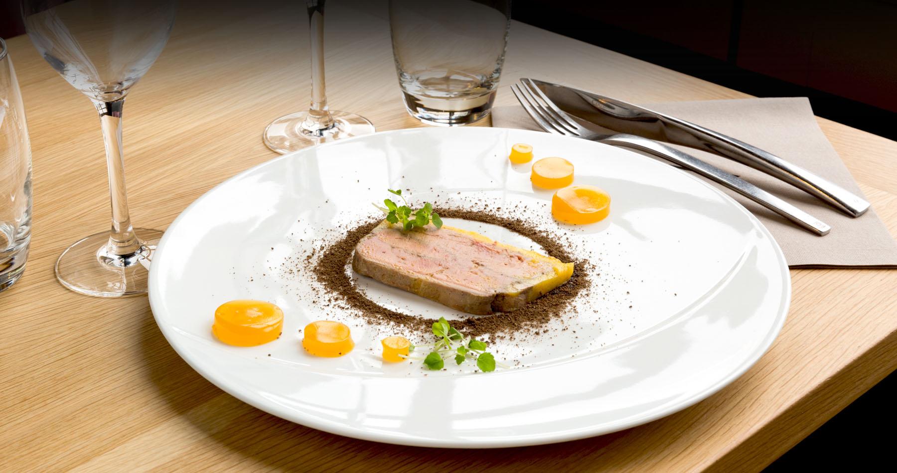 Plat du restaurant Le Palatium Laval